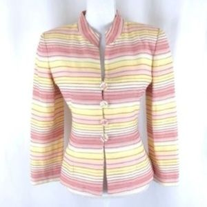 Victor Costa by Nahdree Womens Blazer Jacket Sz 4